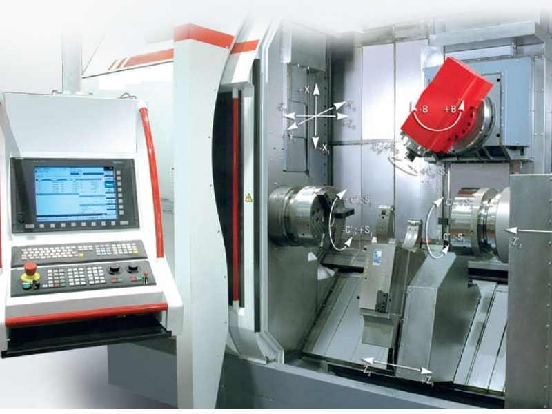 Turning machining center